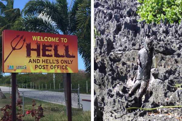 Take a Quick Trip to Hell and Back in the Cayman Islands. Literally!
